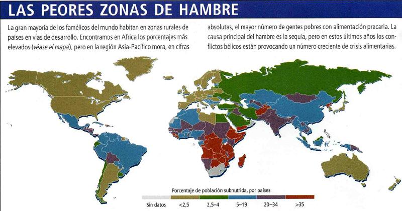 Mapa Del Hambre 2017.La Continuada Subida De Los Alimentos Hasta 2017 Causara La Hambruna De Millones De Pobres Colectivo Turcon Ecologistas En Accion