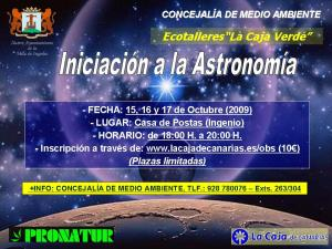 ECOTALLER ASTRONOMÍA