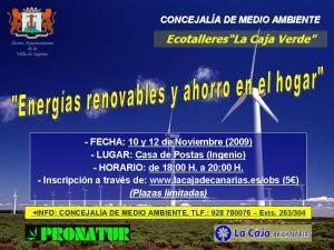 ECOTALLERES ENERGÍAS RENOVABLES