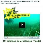 Documental TVE2 sobre nuevo Catálogo de Especies Protegidas