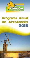 Programa actividades 2013. Pulsa y descarga