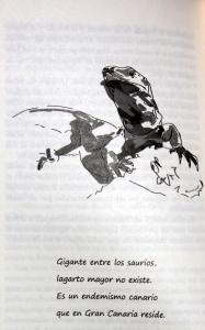 Dibujo interior de la novela