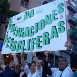 Miembros de Turcón en la manifestación