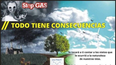 Stop Gas. Canarias dice no