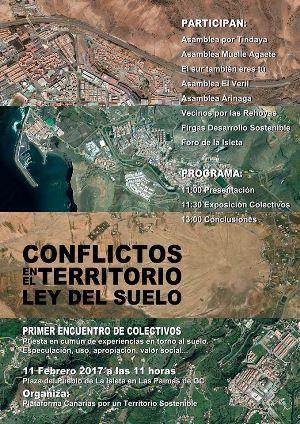 Los conflictos en el territorio a debate