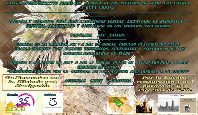 Cartel del Taller Interpretativo sobre Los Picachos